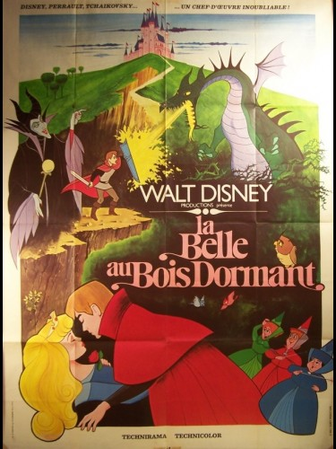 Affiche du film BELLE AU BOIS DORMANT (LA) - SLEEPING BEAUTY
