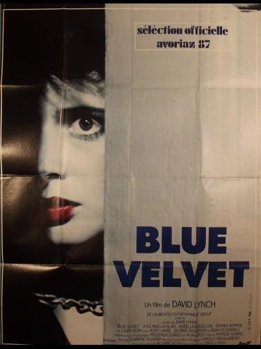 Affiche du film BLUE VELVET