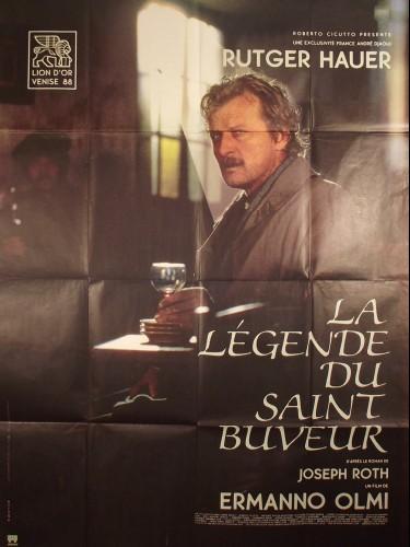 Affiche du film LA LEGENDE DU SAINT BUVEUR - Titre original : LA LEGGENDA DEL SANTO BEVITORE