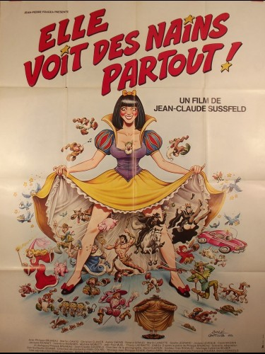 Affiche du film ELLE VOIT DES NAINS PARTOUT