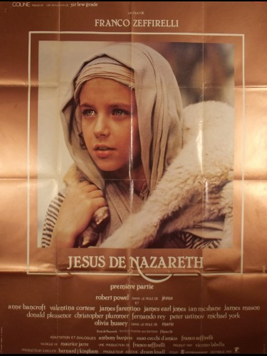 Affiche du film JESUS DE NAZARETH - PREMIERE PARTIE