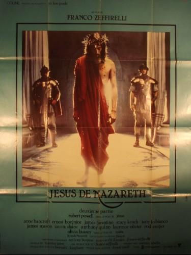 Affiche du film JESUS DE NAZARETH - DEUXIEME PARTIE