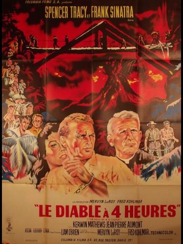 Affiche du film LE DIABLE A 4 HEURES - Titre original : THE DEVIL AT 4 O'CLOCK