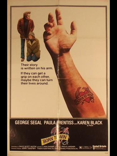 Affiche du film NE POUR VAINCRE - Titre original : BORN TO WIN