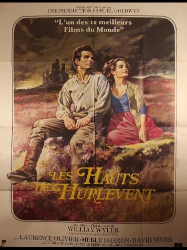 Affiche du film LES HAUTS DE HURLEVENT - Titre original : WUTHERING HEIGHTS