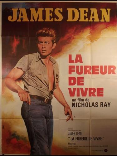 Affiche du film LA FUREUR DE VIVRE - Titre original : REBEL WITHOUT A CAUSE