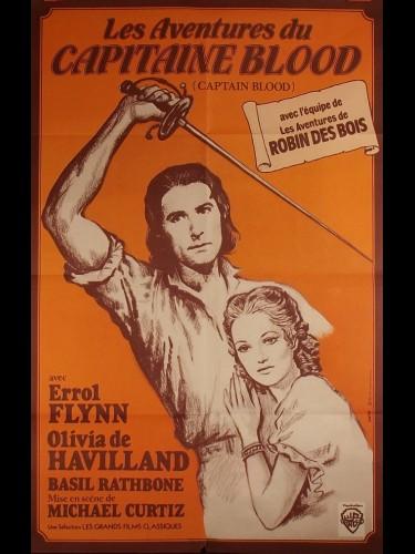 Affiche du film LES AVENTURES DU CAPITAINE BLOOD - Titre original : CAPTAIN BLOOD