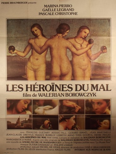 Affiche du film LES HEROINES DU MAL