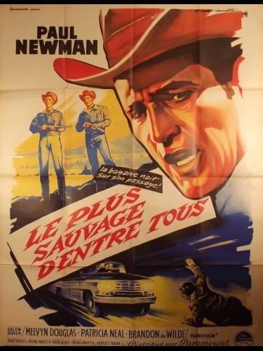Affiche du film LE PLUS SAUVAGE D'ENTRE TOUS - Titre original : HUD