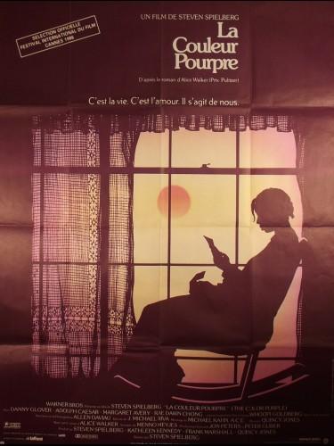 Affiche du film LA COULEUR POURPRE - Titre original : THE COLOR PURPLE
