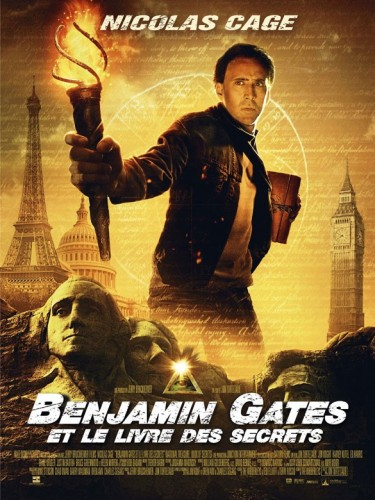 Affiche du film BENJAMIN GATES ET LE LIVRE DES SECRETS - NATIONAL TREASUR 2: THE BOOK OF SECRETS