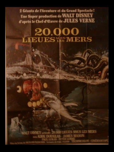20 000 LIEUES SOUS LES MERS - TWENTY THOUSAND LEAUGUE UNDER THE SEA