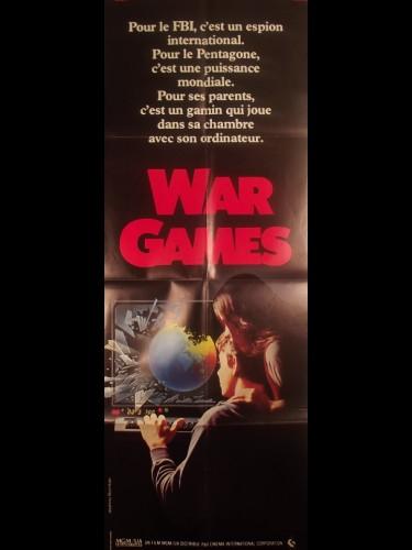 Affiche du film WARGAMES