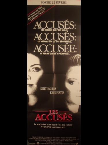 Affiche du film LES ACCUSES - Titre original : THE ACCUSED