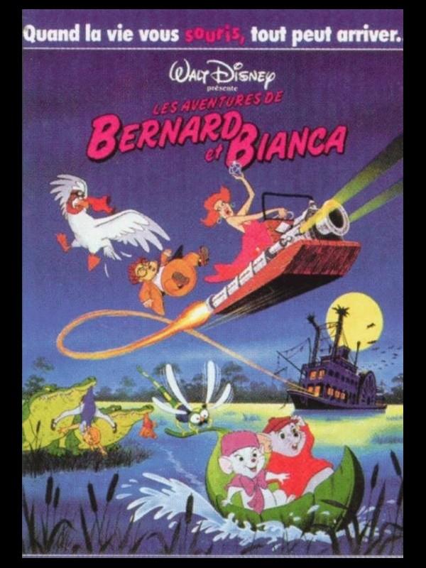 Affiche du film BERNARD ET BIANCA