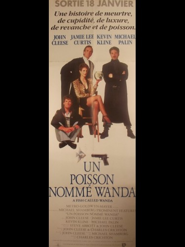Affiche du film UN POISSON NOMME WANDA - Titre original : A FISH CALLED WANDA