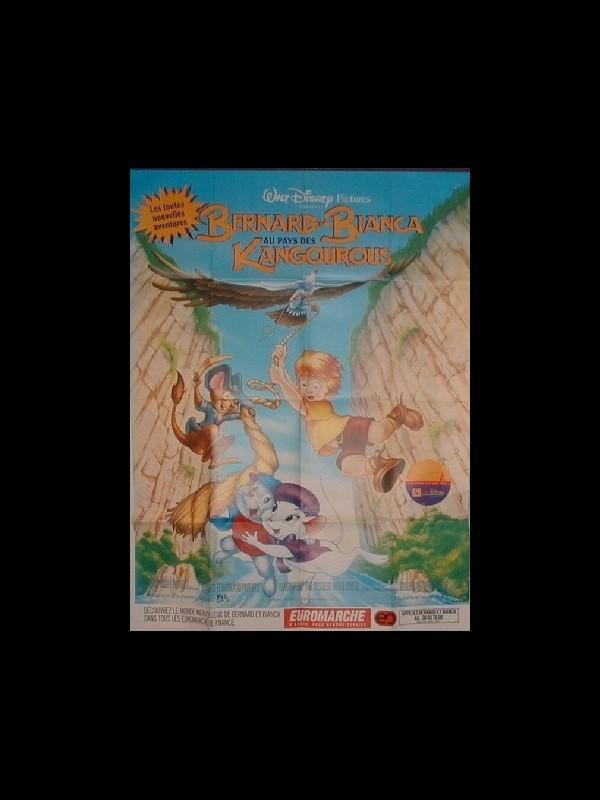 Affiche du film BERNARD ET BIANCA AUX PAYS DES KANGOUROUS