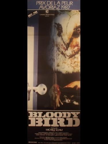 Affiche du film BLOODY BIRD - Titre original : DELIRIA