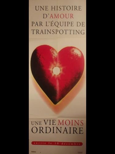 Affiche du film UNE VIE MOINS ORDINAIRE - Titre original : A LIFE LESS ORDINARY