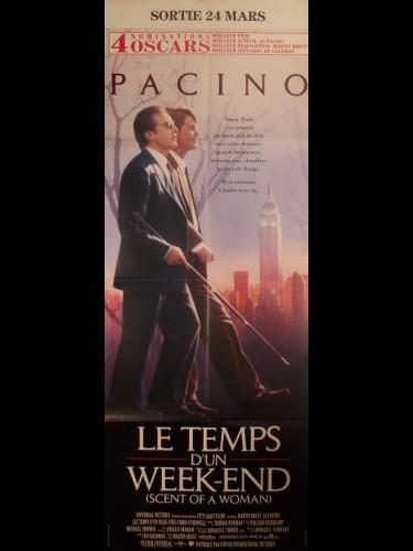 Affiche du film LE TEMPS D'UN WEEK-END - Titre original : SCENT OF A WOMAN