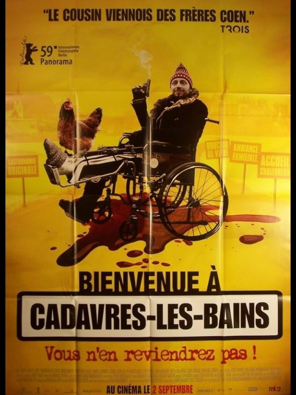 Affiche du film BIENVENUE A CADAVRES LES BAINS - DER KNOCHENMANN
