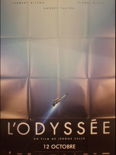 Affiche du film L'ODYSSEE (visuel B)