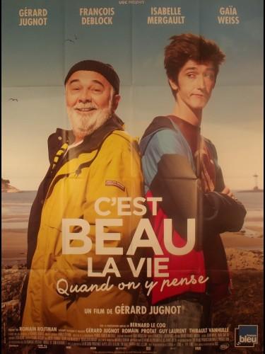 Affiche du film C'EST BEAU LA VIE QUAND ON Y PENSE