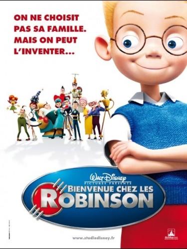 Affiche du film BIENVENUE CHEZ LES ROBINSONS - MEET THE ROBINSONS