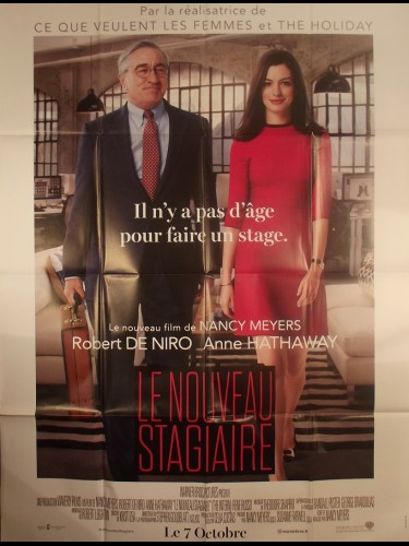 Affiche du film LE NOUVEAU STAGIARE - Titre original : THE INTERN