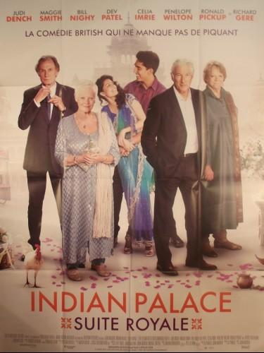 Affiche du film INDIAN PALACE - SUITE ROYALE - Titre original : THE SECOND EXOTIC MARIGOLD HOTEL