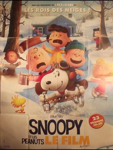 Affiche du film SNOOPY ET LES PEANUTS - LE FILM -