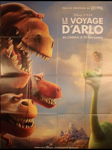 Affiche du film LE VOYAGE D'ARLO - Titre original : THE GOOD DINOSAUR