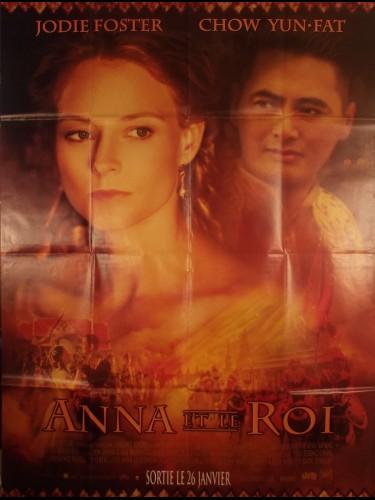 Affiche du film ANNA ET LE ROI - Titre original : ANNA AND THE KING