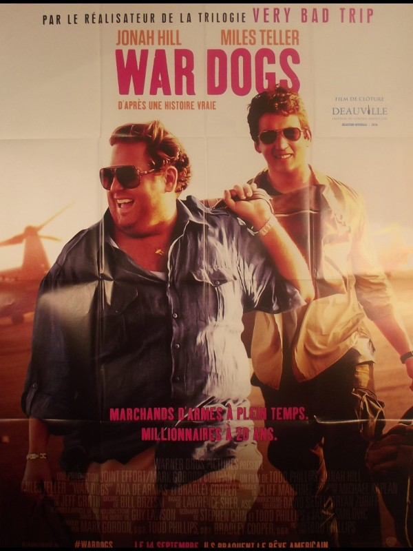 Affiche du film WAR DOGS