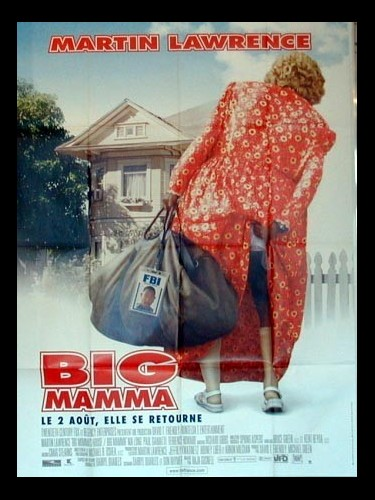 Affiche du film BIG MAMMA - BIG MOMMA'S HOUSE
