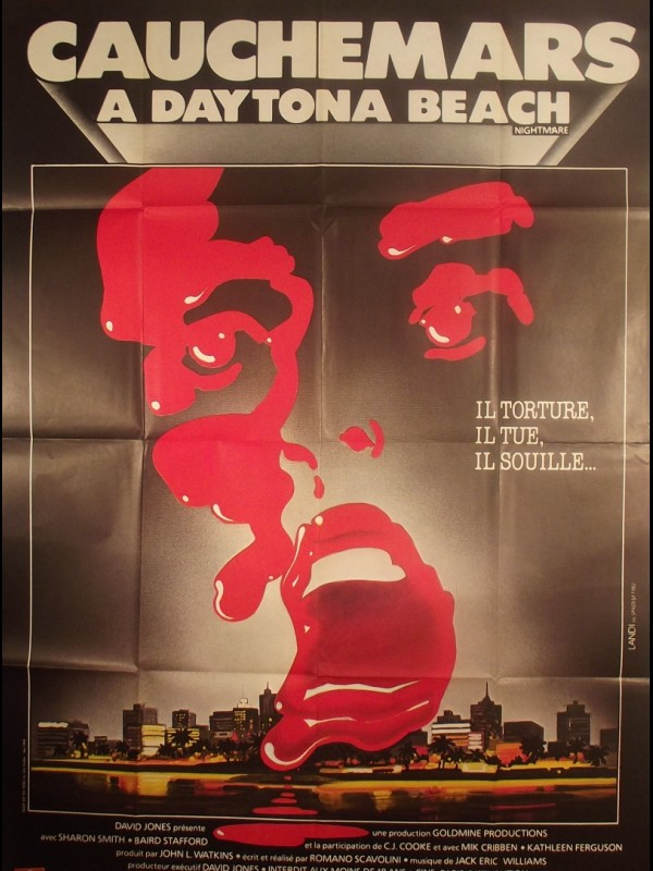 Affiche du film CAUCHEMARS A DAYTONA BEACH - Titre original : NIGHTMARE