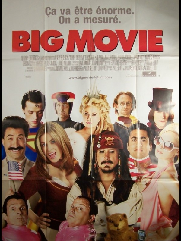 Affiche du film BIG MOVIE - EPIC MOVIE