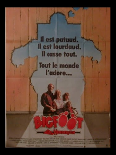 Affiche du film BIGFOOT ET LES HENDERSON - HARRY AND THE HENDERSONS