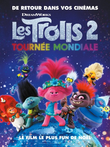 Affiche du film LES TROLLS 2 - TOURNEE MONDIALE -