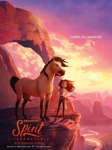 Affiche du film SPIRIT L'INDOMPTABLE