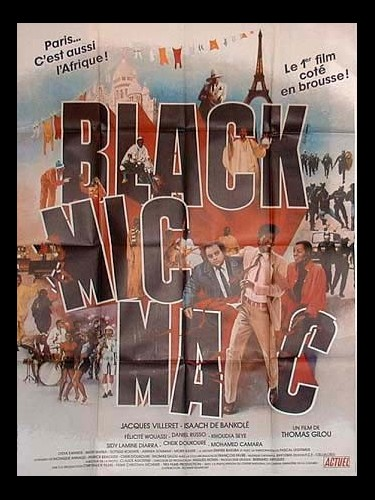 Affiche du film BLACK MIC MAC