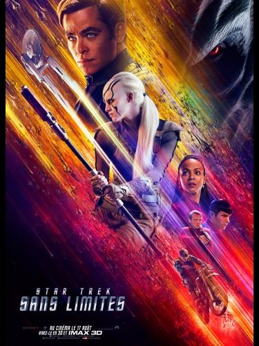 Affiche du film STAR TREK SANS LIMITES - Titre original : STAR TREK BEYOND
