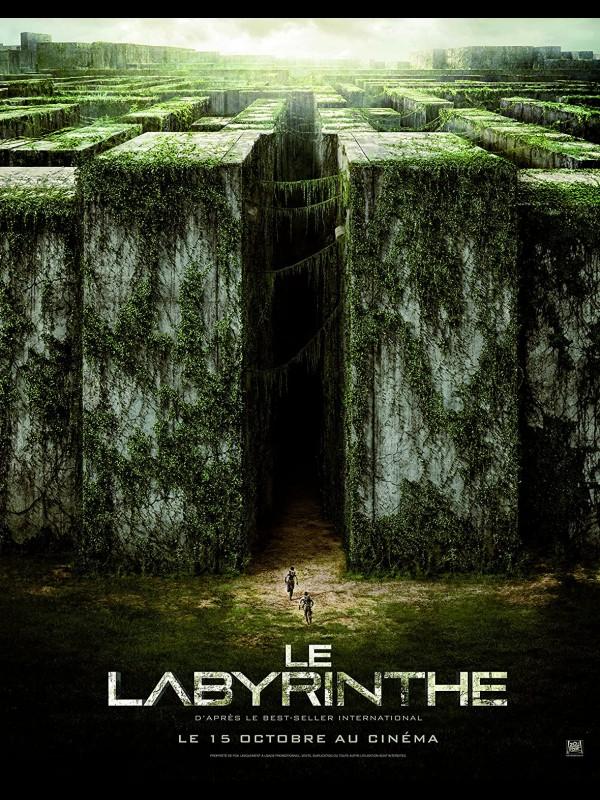 Affiche du film LE LABYRINTHE - Titre original : THE MAZE RUNNER