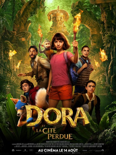 Affiche du film DORA ET LA CITE PERDUE - Titre original : DORA ANBD THE LOST CITY OF GOLD