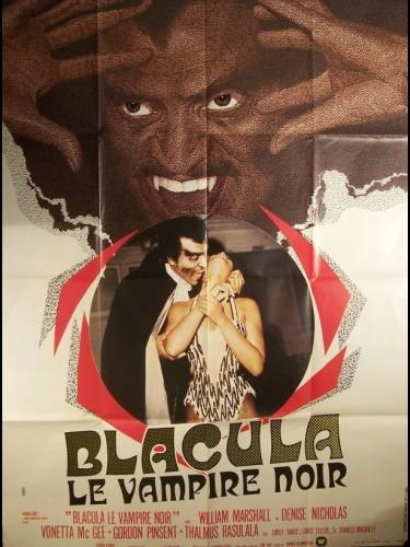 Affiche du film BLACULA LE VAMPIRE NOIR - BLACULA