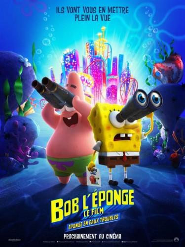 Affiche du film BOB L'EPONGE - EPONGE EN EAUX TROUBLES -