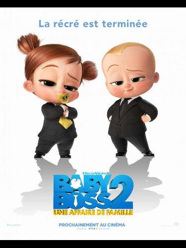 Affiche du film BABY BOSS 2 - UNE AFFAIRE DE FAMILLE -