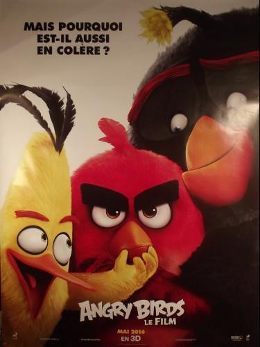 Affiche du film ANGRY BIRD