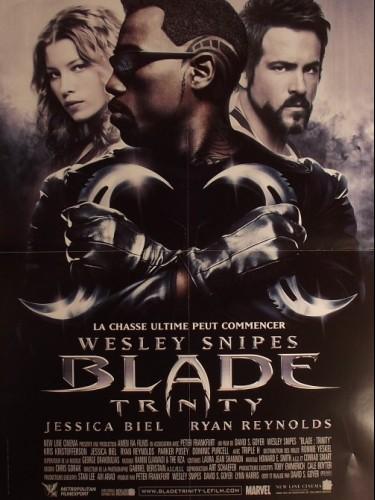 Affiche du film BLADE -TRINITY-