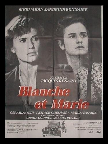 Affiche du film BLANCHE ET MARIE